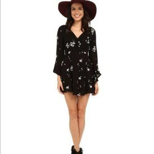 Free People Jasmine Floral Embroidered Dress XS US